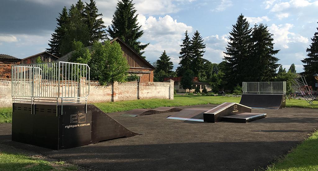 Скейт-парк Кролевец