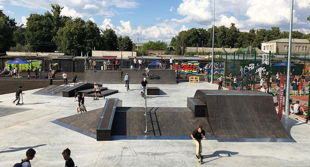 Скейт-парк урбан-парк Харьков