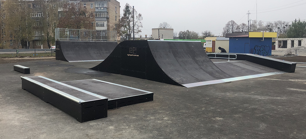 Скейт-парк Калиновка