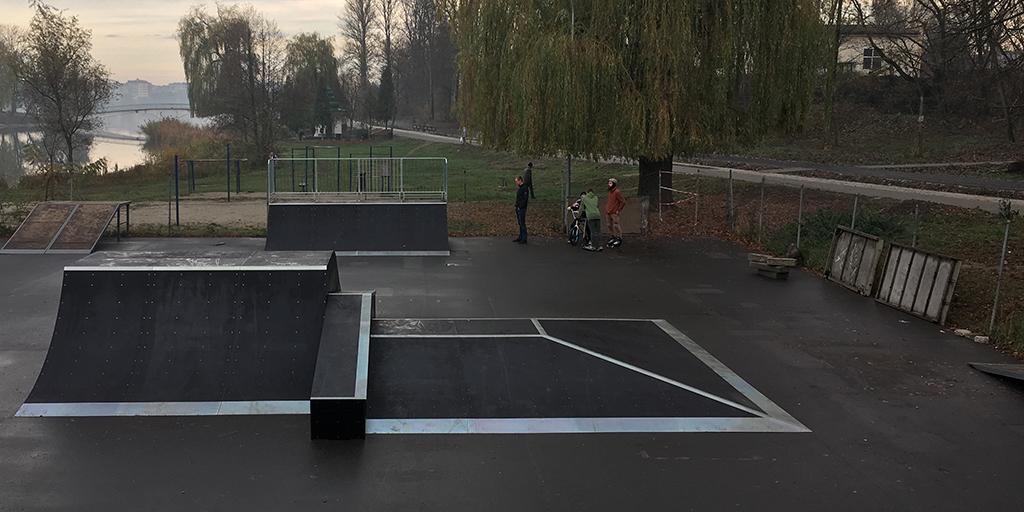 Скейт-парк Ивано-Франковск