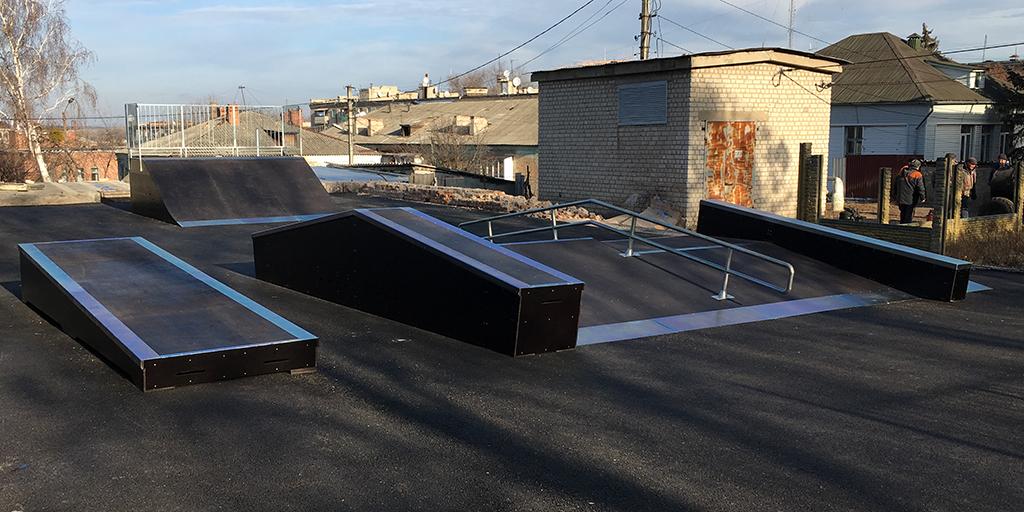 Скейт-парк Изюм