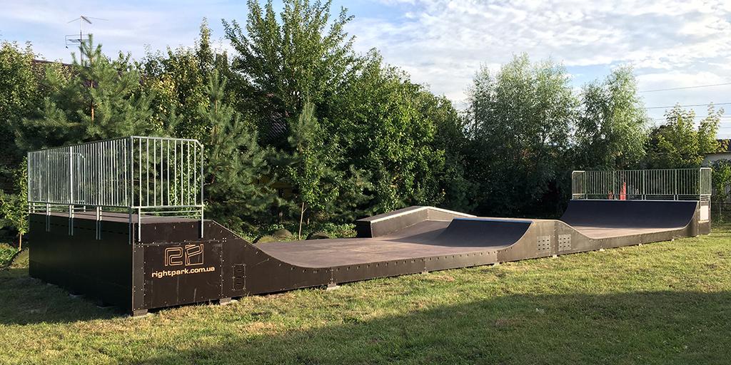 Скейт-парк Новые Петровцы