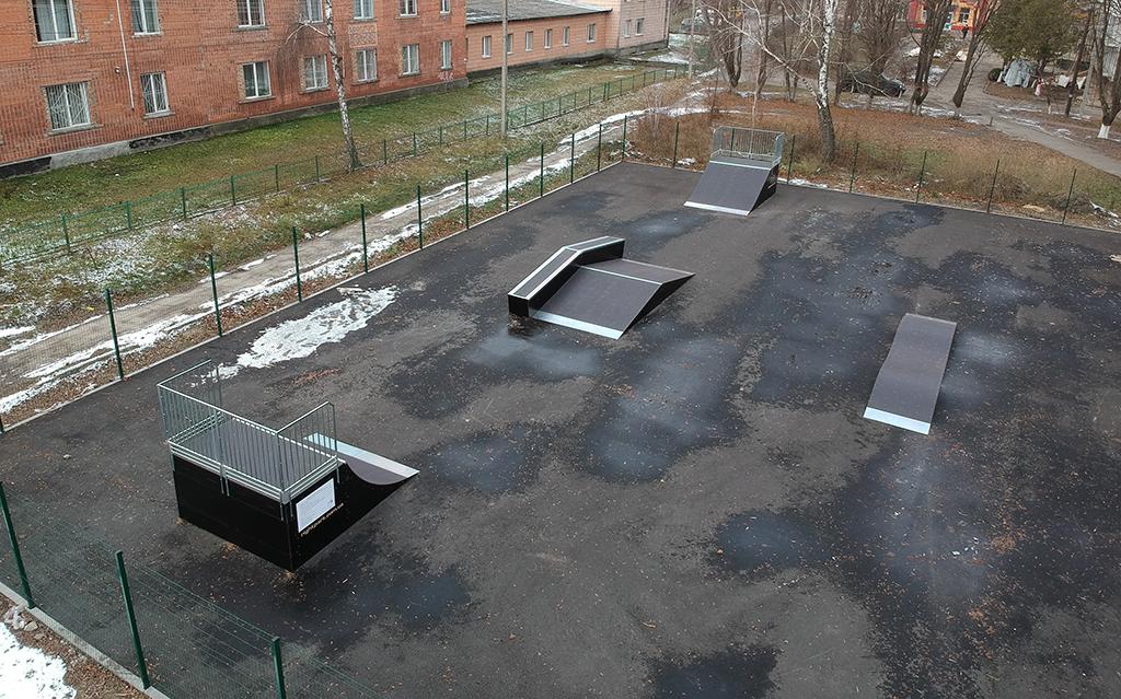 Скейтпарк Костополь